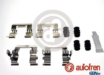 AUTOFREN SEINSA D42862A - Комплектующие, колодки дискового тормоза avtokuzovplus.com.ua