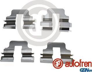 AUTOFREN SEINSA D42864A - Комплектующие, колодки дискового тормоза avtokuzovplus.com.ua