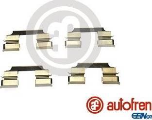 AUTOFREN SEINSA D42867A - Комплектующие, колодки дискового тормоза avtokuzovplus.com.ua