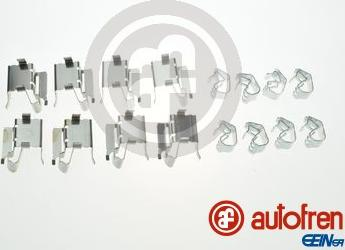 AUTOFREN SEINSA D42869A - Комплектующие, колодки дискового тормоза avtokuzovplus.com.ua