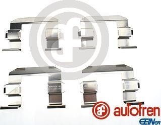 AUTOFREN SEINSA D42870A - Комплектующие, колодки дискового тормоза autodnr.net