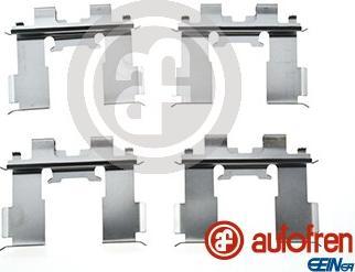 AUTOFREN SEINSA D42873A - Комплектующие, колодки дискового тормоза avtokuzovplus.com.ua