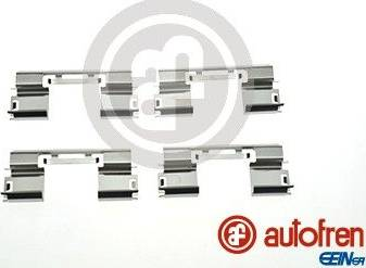 AUTOFREN SEINSA D42874A - Комплектующие, колодки дискового тормоза avtokuzovplus.com.ua
