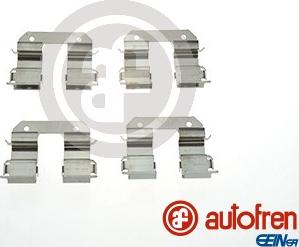 AUTOFREN SEINSA D42875A - Комплектующие, колодки дискового тормоза avtokuzovplus.com.ua