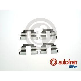 AUTOFREN SEINSA D42876A - Комплектующие, колодки дискового тормоза avtokuzovplus.com.ua
