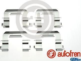 AUTOFREN SEINSA D42877A - Комплектующие, колодки дискового тормоза avtokuzovplus.com.ua