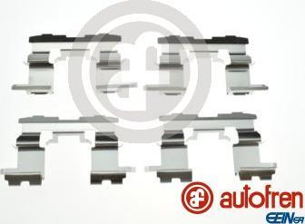 AUTOFREN SEINSA D42878A - Комплектующие, колодки дискового тормоза avtokuzovplus.com.ua