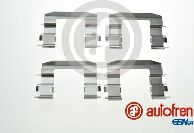 AUTOFREN SEINSA D42880A - Комплектующие, колодки дискового тормоза avtokuzovplus.com.ua