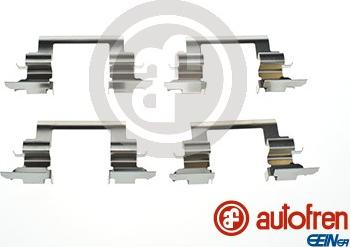 AUTOFREN SEINSA D42881A - Комплектующие, колодки дискового тормоза avtokuzovplus.com.ua