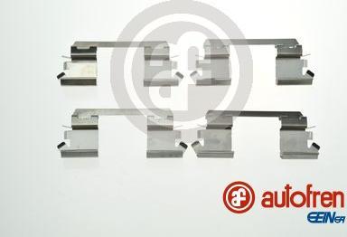 AUTOFREN SEINSA D42883A - Комплектующие, колодки дискового тормоза avtokuzovplus.com.ua