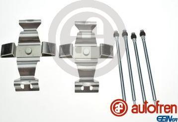 AUTOFREN SEINSA D42887A - Комплектующие, колодки дискового тормоза avtokuzovplus.com.ua