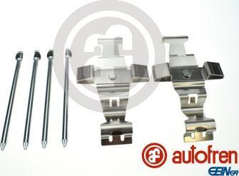 AUTOFREN SEINSA D42888A - Комплектующие, колодки дискового тормоза avtokuzovplus.com.ua