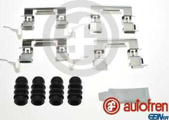 AUTOFREN SEINSA D42890A - Комплектующие, колодки дискового тормоза avtokuzovplus.com.ua