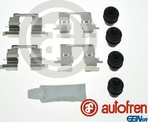 AUTOFREN SEINSA D42891A - Комплектующие, колодки дискового тормоза avtokuzovplus.com.ua