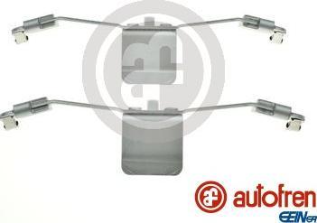 AUTOFREN SEINSA D42895A - Комплектующие, колодки дискового тормоза avtokuzovplus.com.ua