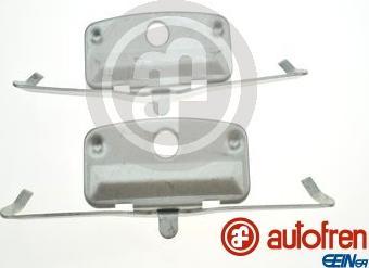 AUTOFREN SEINSA D42898A - Комплектующие, колодки дискового тормоза avtokuzovplus.com.ua