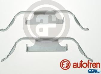 AUTOFREN SEINSA D42899A - Комплектующие, колодки дискового тормоза avtokuzovplus.com.ua