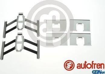 AUTOFREN SEINSA D42902A - Комплектующие, колодки дискового тормоза autodnr.net