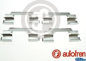 AUTOFREN SEINSA D42903A - Комплектующие, колодки дискового тормоза avtokuzovplus.com.ua