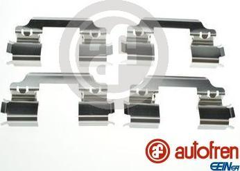 AUTOFREN SEINSA D42904A - Комплектующие, колодки дискового тормоза avtokuzovplus.com.ua