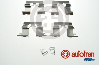 AUTOFREN SEINSA D42912A - Комплектующие, колодки дискового тормоза avtokuzovplus.com.ua