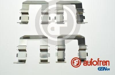 AUTOFREN SEINSA D42913A - Комплектующие, колодки дискового тормоза avtokuzovplus.com.ua