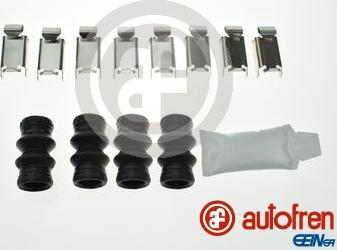 AUTOFREN SEINSA D42916A - Комплектующие, колодки дискового тормоза avtokuzovplus.com.ua