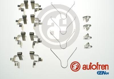 AUTOFREN SEINSA D42921A - Комплектующие, колодки дискового тормоза avtokuzovplus.com.ua