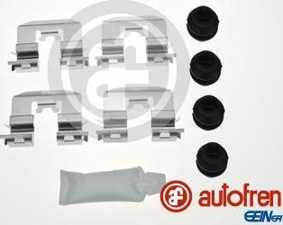 AUTOFREN SEINSA D42923A - Комплектующие, колодки дискового тормоза avtokuzovplus.com.ua