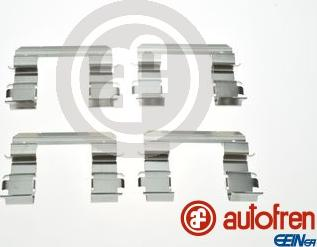 AUTOFREN SEINSA D42926A - Комплектующие, колодки дискового тормоза avtokuzovplus.com.ua