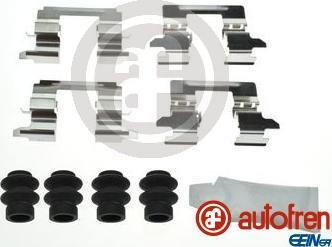 AUTOFREN SEINSA D42927A - Комплектующие, колодки дискового тормоза avtokuzovplus.com.ua