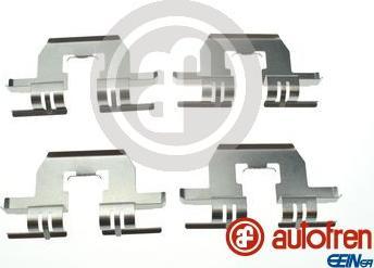 AUTOFREN SEINSA D42928A - Комплектующие, колодки дискового тормоза avtokuzovplus.com.ua