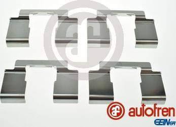 AUTOFREN SEINSA D42930A - Комплектующие, колодки дискового тормоза avtokuzovplus.com.ua