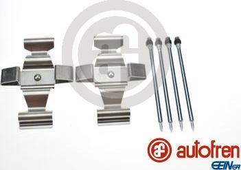 AUTOFREN SEINSA D42933A - Комплектующие, колодки дискового тормоза avtokuzovplus.com.ua