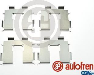 AUTOFREN SEINSA D42939A - Комплектующие, колодки дискового тормоза avtokuzovplus.com.ua