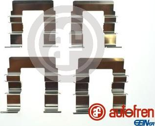 AUTOFREN SEINSA D42940A - Комплектующие, колодки дискового тормоза avtokuzovplus.com.ua