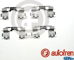 AUTOFREN SEINSA D42945A - Комплектующие, колодки дискового тормоза avtokuzovplus.com.ua