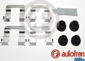AUTOFREN SEINSA D42947A - Комплектующие, колодки дискового тормоза avtokuzovplus.com.ua