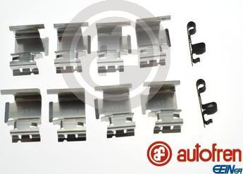 AUTOFREN SEINSA D42948A - Комплектующие, колодки дискового тормоза avtokuzovplus.com.ua