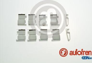 AUTOFREN SEINSA D42950A - Комплектующие, колодки дискового тормоза avtokuzovplus.com.ua