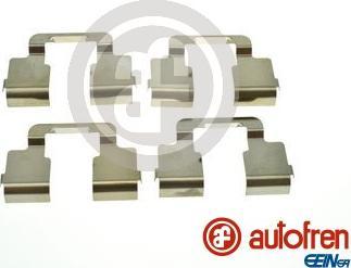 AUTOFREN SEINSA D42951A - Комплектующие, колодки дискового тормоза avtokuzovplus.com.ua