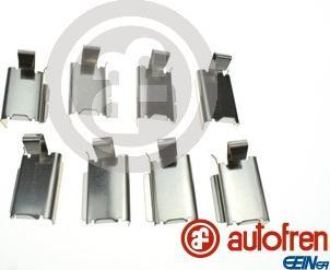 AUTOFREN SEINSA D42952A - Комплектующие, колодки дискового тормоза avtokuzovplus.com.ua