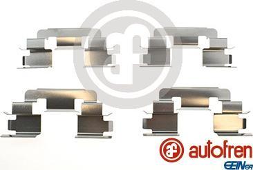 AUTOFREN SEINSA D42954A - Комплектующие, колодки дискового тормоза avtokuzovplus.com.ua