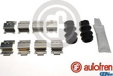 AUTOFREN SEINSA D42955A - Комплектующие, колодки дискового тормоза avtokuzovplus.com.ua