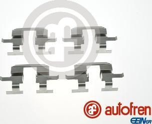AUTOFREN SEINSA D42963A - Комплектующие, колодки дискового тормоза avtokuzovplus.com.ua