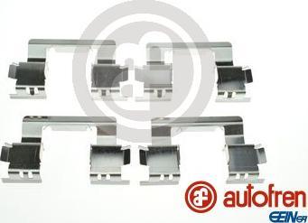 AUTOFREN SEINSA D42968A - Комплектующие, колодки дискового тормоза avtokuzovplus.com.ua