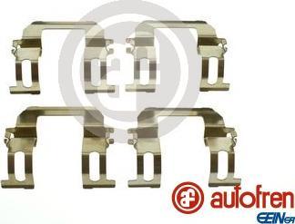 AUTOFREN SEINSA D42970A - Комплектующие, колодки дискового тормоза avtokuzovplus.com.ua