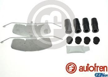AUTOFREN SEINSA D42972A - Комплектующие, колодки дискового тормоза avtokuzovplus.com.ua