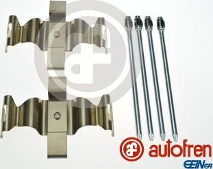 AUTOFREN SEINSA D42981A - Комплектующие, колодки дискового тормоза avtokuzovplus.com.ua