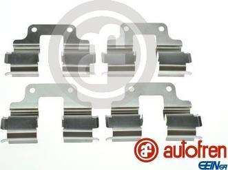 AUTOFREN SEINSA D42982A - Комплектующие, колодки дискового тормоза avtokuzovplus.com.ua
